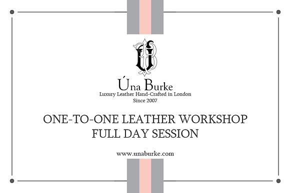 One-to-One Full Day Leather Workshop