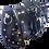 Thumbnail: 50% Off - Filigree Barrel Bag - Black