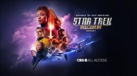 Star Trek Poster, Michelle Yeoh wears Una Burke