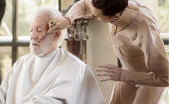 Hunger Games-Posture Collar-President Snow's Avox