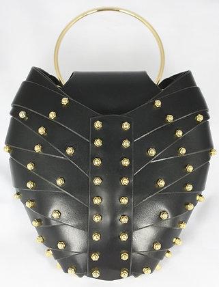 Ring Handle Heart Bag