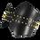 Thumbnail: Peaked Corset - Black