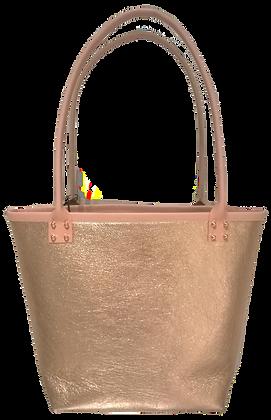 50% Off - Tote - Metallic Pink
