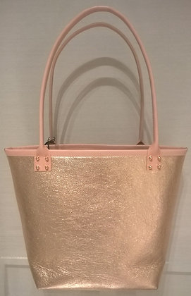 Metallic Pink Tote Bag