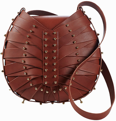 Tan Shield Bag