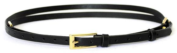 Skinny Double Wrap Belt