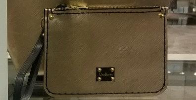 Gold Purse / Detachable Tote Pocket