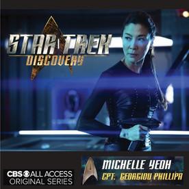 Michelle Yeoh wears Una Burke in Star Trek Discovery
