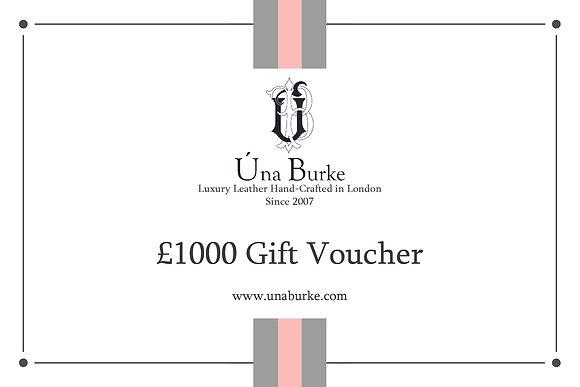 £1000 Gift Voucher