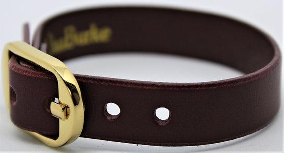 Buckle Bracelet - Milled Merlot