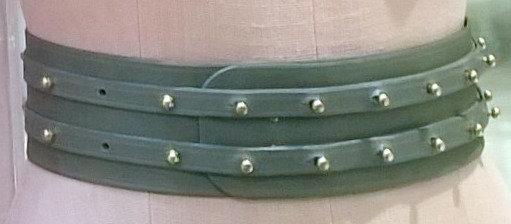 30% Off - Twin Strap Belt - Grey