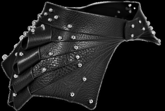 30% Off - Overlap Cinch Belt - Black