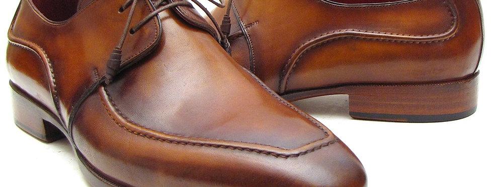 Paul Parkman Brown Derby Dress Shoes for Men