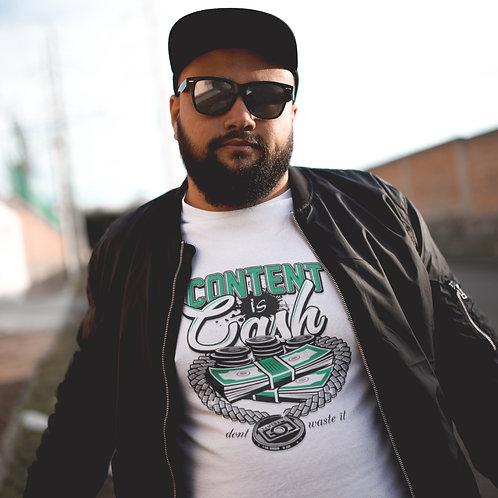 CG CONTENT IS CASH Short-Sleeve Unisex T-Shirt