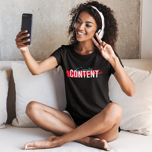 CG CREATE CONTENT Short-Sleeve Unisex T-Shirt