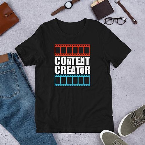 CG CONTENT CREATOR Short-Sleeve Unisex T-Shirt