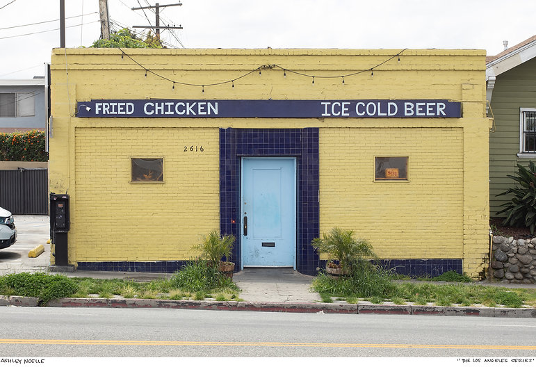 FRIED CHICKEN  ICE COLD BEER