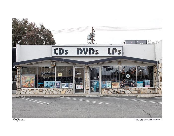 CDs DVDs LPs
