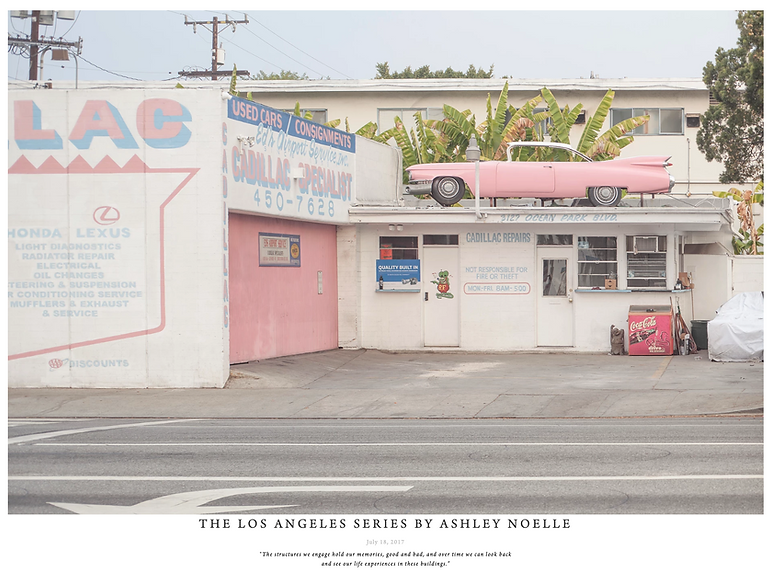 The Los Angeles series for In Rainbows by Madison Chertow