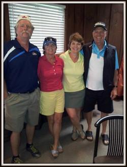Les gagnants du tournoi de golf 2013