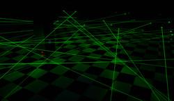Большой лазерный лабиринт