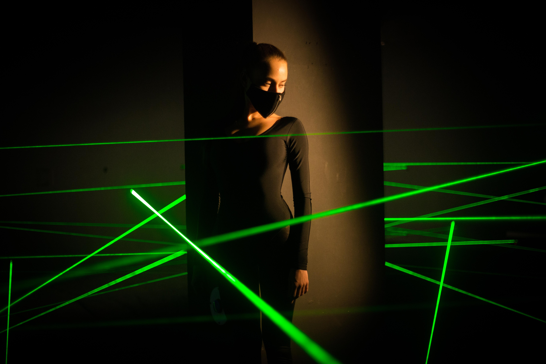 Игра в лазерном лабиринте