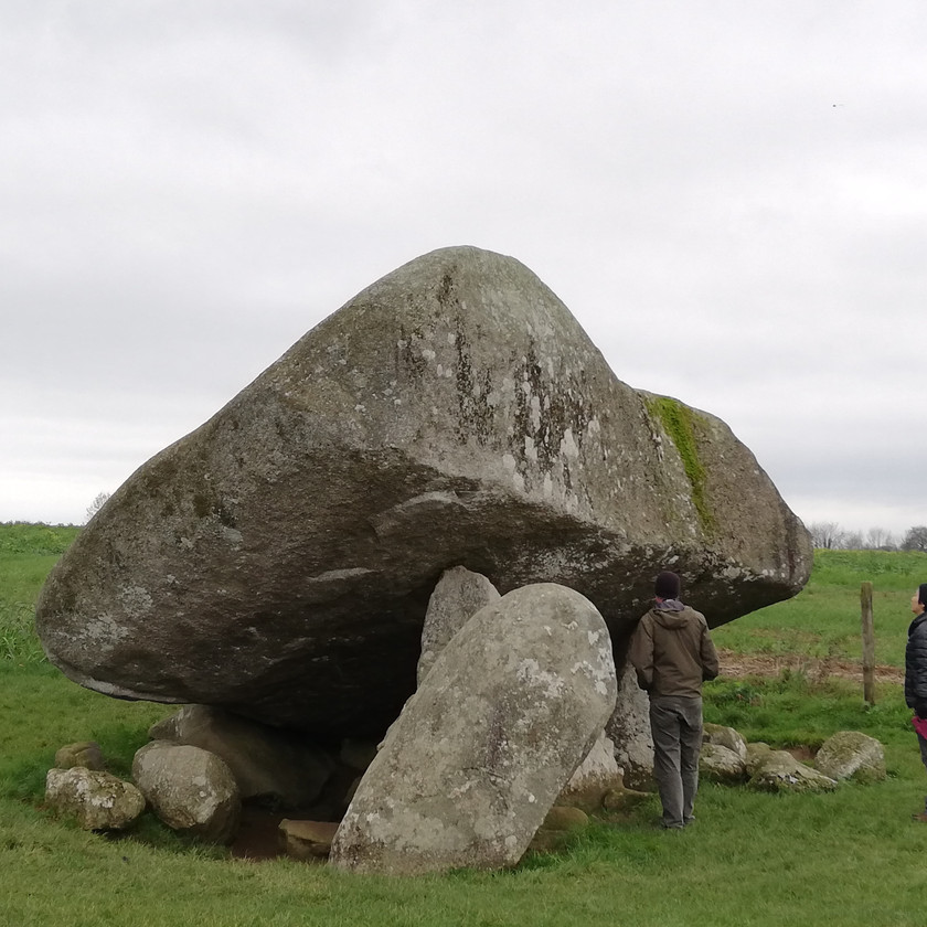 The Brownshill Dolmen Tomb