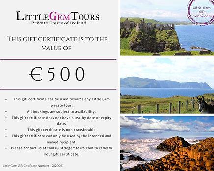 Little_Gem_Tours_Gift_Certificate_€500