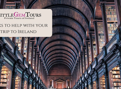 Little Gem Recommends - Books about Ireland from the Little Gem Library...