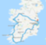 Wild Atlantic Way Private Tour Map