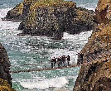 Family fun tour Ireland - The Carrick a Rede Rope Bridge