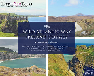 multi day private tours of Ireland