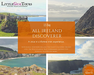 Escorted Private Tours of Ireland