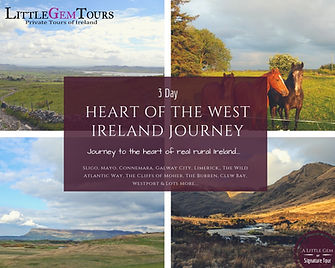 Ireland journey private tour from Dublin