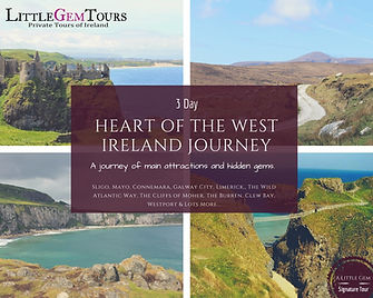 private driver Ireland tour - 3 day West Ireland