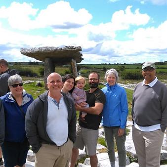 Group in Enjoying Ireland
