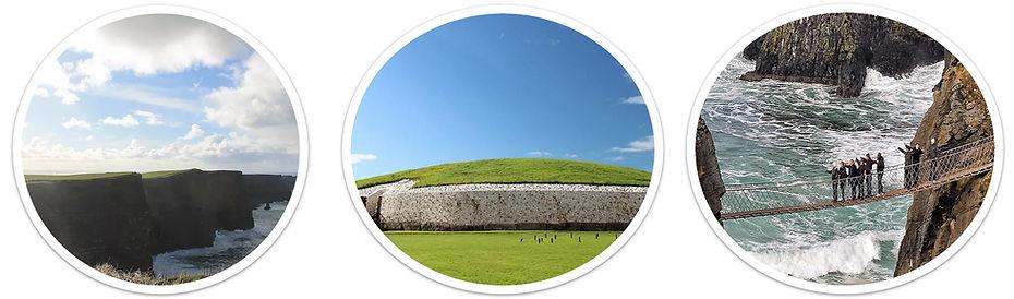 Escorted day tours Ireland