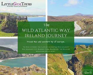 Wild Atlantic Way Tour Ireland