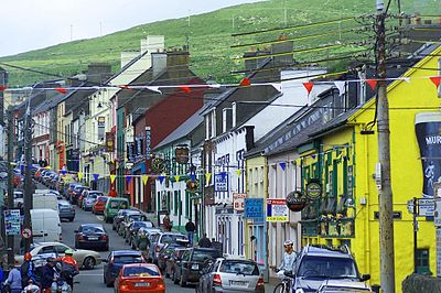 Dingle main street