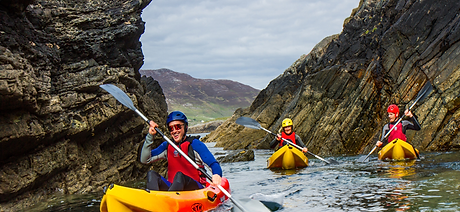Adventure Activities on our Private Connemara Tour.