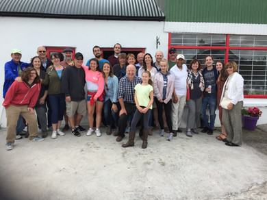 Extended family tour of Ireland West Farm Stay