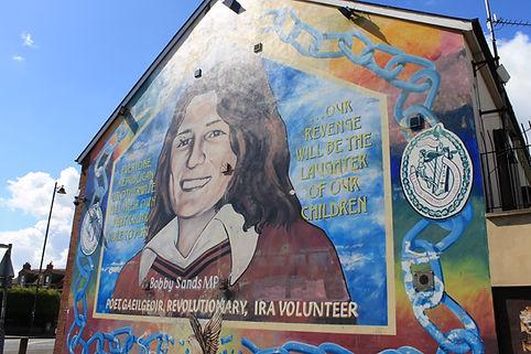Belfast Ireland Mural Experience