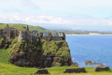 Dunluce Castle Ireland