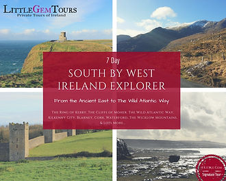 Escorted multi day tours of Ireland