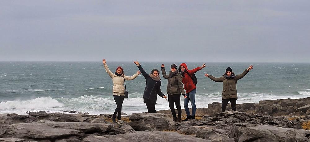 Enjoying the Wild Atlantic Way on a private tour Ireland.
