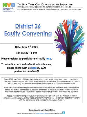 D26: Equity Convening - 6/1