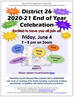 D26: End of Year Celebration - 6/4