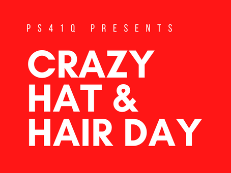 Email Reminders: Crazy Hat/Hair Day, Nonna's Fundraiser & More