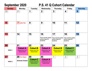 Class Assignments, Cohort Calendar and more