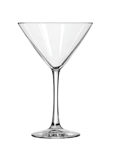Set of 4 Libbey 10 oz. Martini Glasses